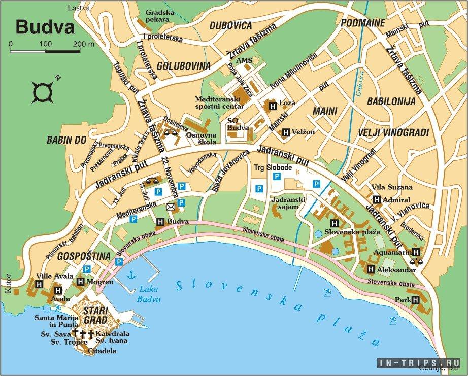 карта черногории скачать бесплатно - фото 10