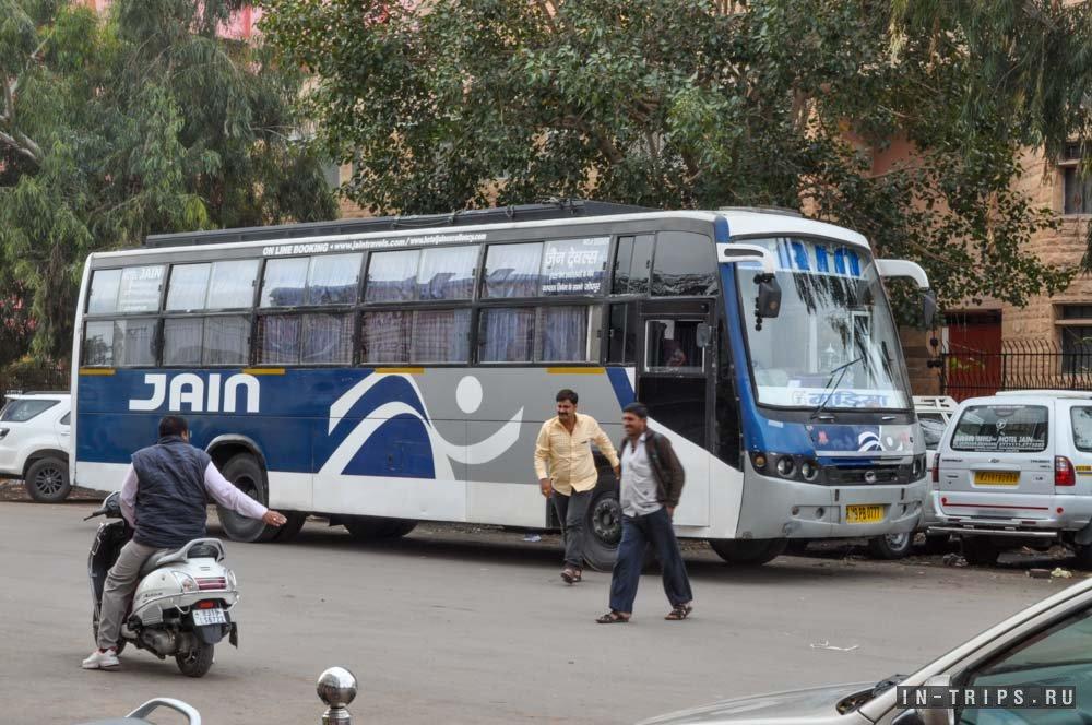 Часть мест в автобусе были