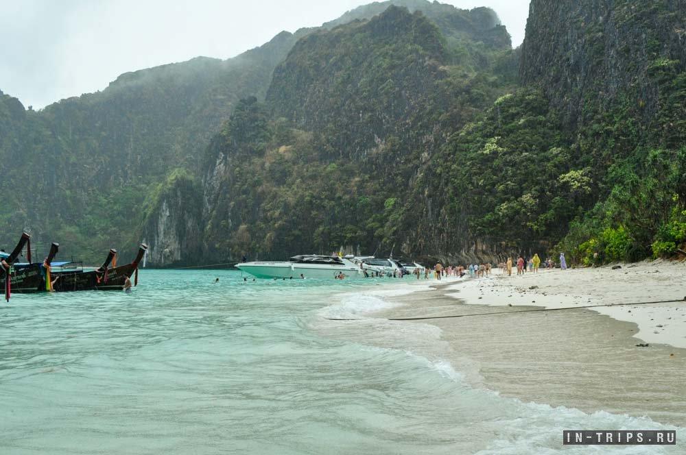 Бухта Майя Бей на острове Пхи Пхи Ле.