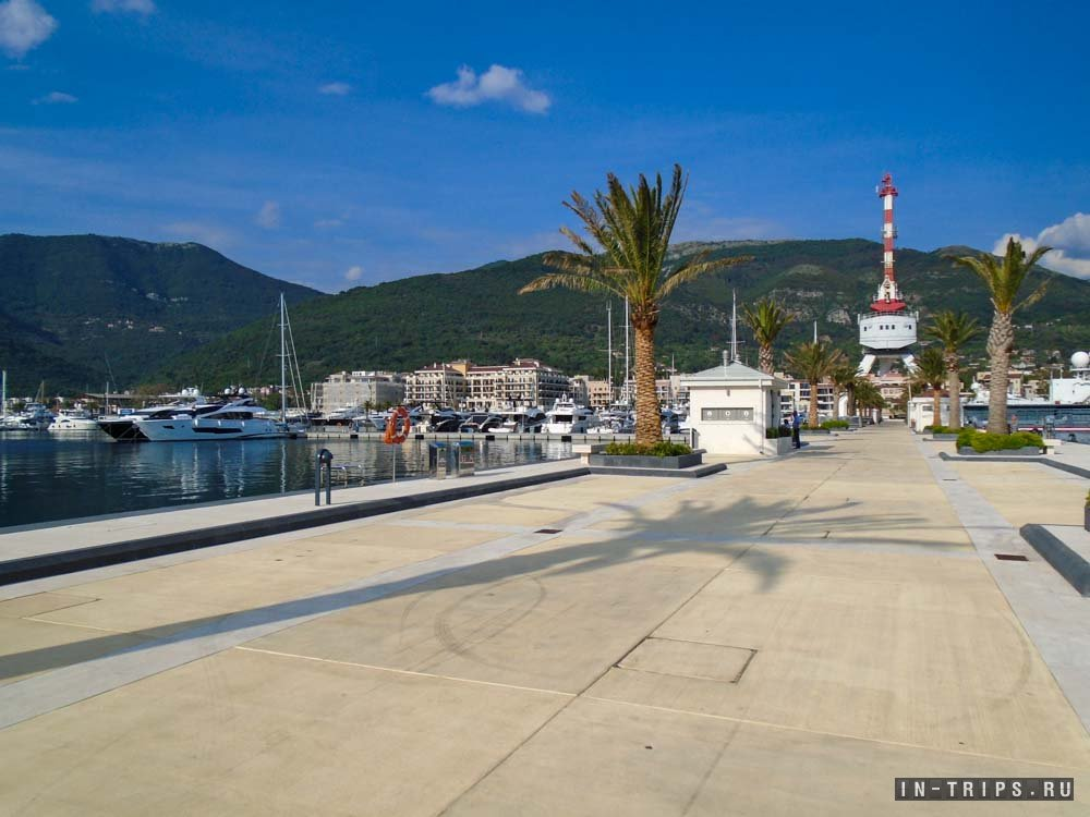Черногория отели в марина порто монтенегро