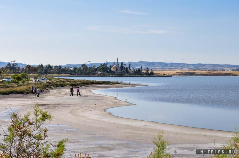 Парк соляного озера Ларнаки.